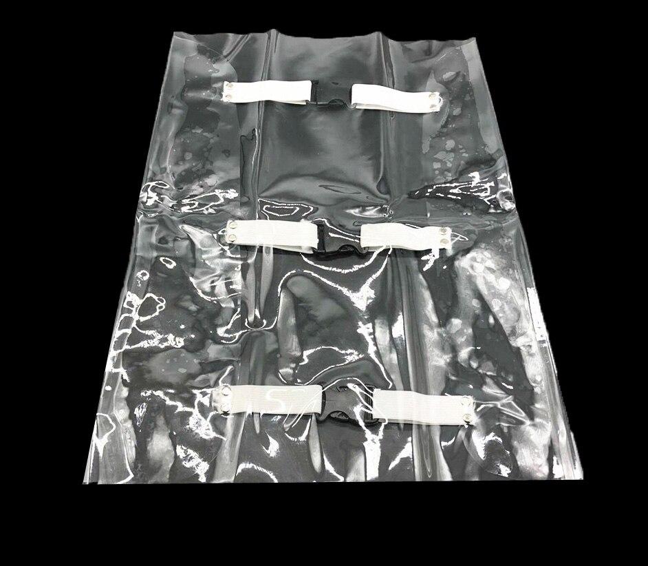Пластиковая прозрачная Стоматологическая Подушка для стула подушка для ног Стоматологическое Кресло Блок Пылезащитный Чехол протектор с эластичными лентами клиника питания - Цвет: 1pcs