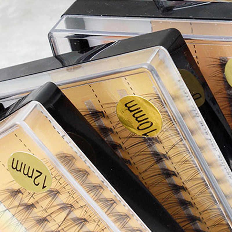 10D küme yanlış Eyelases bireysel kirpik takma kirpik kalın ses