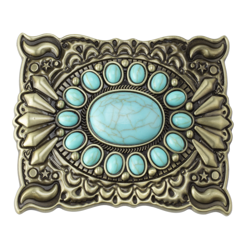 Decorative Pattern Belt Buckle