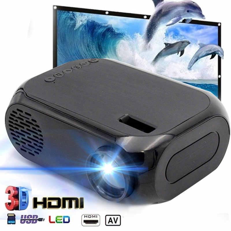 BLJ-111 LCD FHD Smart Proiettore 3D 1920*1080P Mini Interfacce di Supporto Proiettore AV USB HDMI Movie Home Cinema pellicola