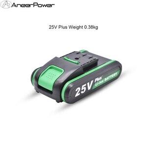 Image 5 - Haute qualité 25V 12V Plus batterie au Lithium Li ion batterie pour outils électriques perceuse à percussion Rechargeable sans fil tournevis batterie