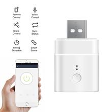 SONOFF Micro 5V Wireless USB Smart Adaptor Wifi Mini USB Power Adaptor Switch Works eWeLink APP Alexa Google Home cheap choifoo SONOFF Micro Wifi Switch Ready-to-Go Other Slot 8 Channels Support