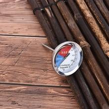 Acero inoxidable barbacoa ahumador parrilla termómetro medidor de temperatura 100-550 grados