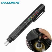 Profession Accurate Brake Fluid Tester Pen Car Auto Oil Moisture Liquid 5 LED Digital Tester Auto Automotive Testing Tool