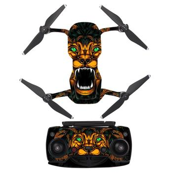 Custom Design PVC Waterproof Sticker For DJI MAVIC AIR Drone Body Shell Protection Skin Quadcopter Camera Drone Skin Stickers