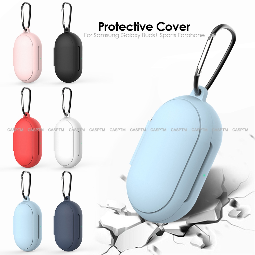 Protective Case Cover For Samsung Galaxy Buds Soft Silicone New Arrival Full Cover Earphone Cases For Samsung Galaxy Buds Plus(China)