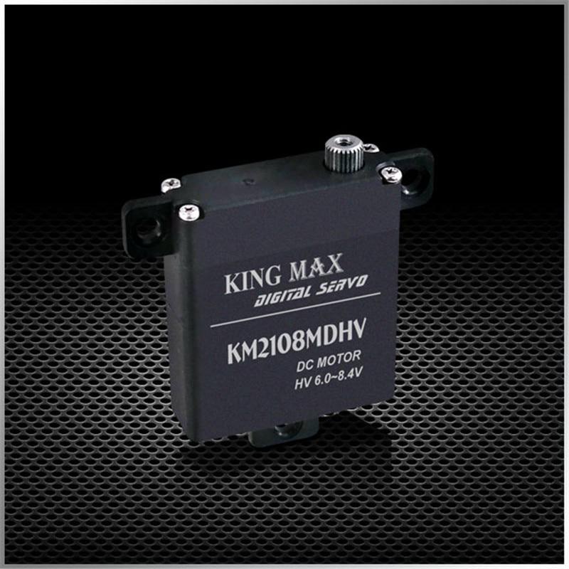 KINGMAX KM2108MD HV 21g 8kg.cm,digital,metal Gears Wing Servo For Thin Airfoil Glider Aircraft Servos