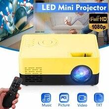 Mini EU Full HD Projector 1080P Portable LED Projector Home