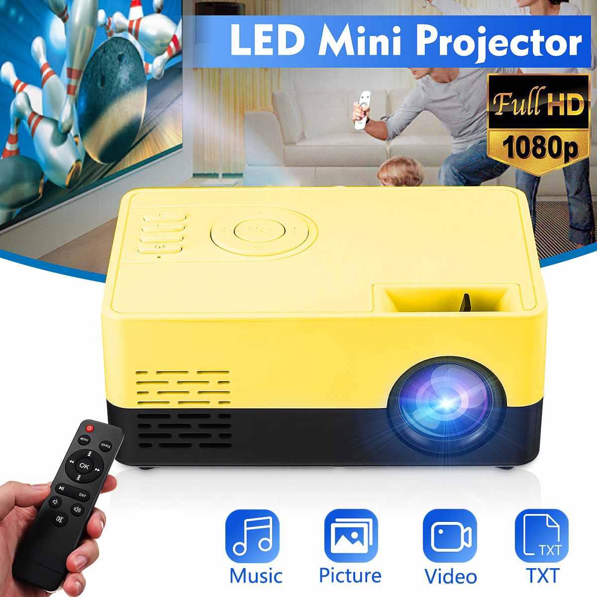 Mini proyector Full HD europeo 1080P proyector LED portátil Cine en Casa cine al aire libre película para fiesta Camping Para One plus 5T vidrio templado para OnePLus 3 3T Protector de pantalla 2.5D película de vidrio protectora completa para OnePlus 5 5T 1 + 5 t 6