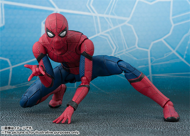 Фигурка Человек-паук 14 см фигма 4