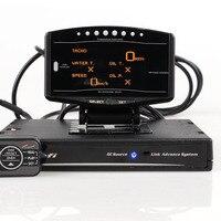 Medidor de enlace digital automático con sensores electrónicos, kit completo de paquete deportivo, 10 en 1, BF, CR, C2, DEFI, Advance ZD, muestra de vídeo