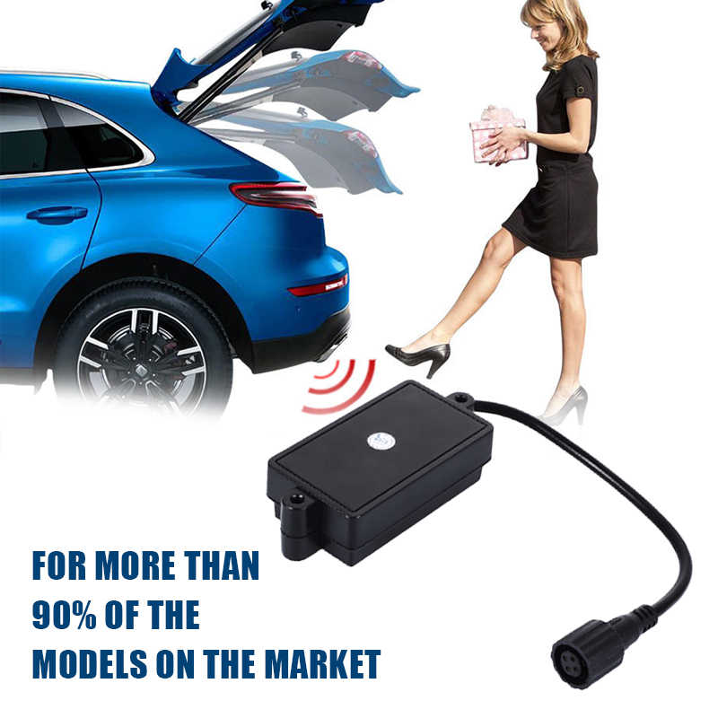 Car Trunk Door Remote Control One Foot Activated Trunk Boot Sensor for Smart Auto Electric Tail Gate Boot Flaps Trunk Sensor