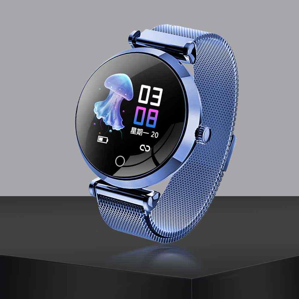 R6 Smart Dameshorloge IP68 Waterdicht Hartslag Monitoring Bericht Push Bluetooth Mannen Fitness Vrouwen Horloges Voor Android IOS