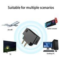 Trasmettitore Bluetooth 5.0 trasmettitore per aeromobili Wireless adattatore Audio Bluetooth per sistema di intrattenimento delle compagnie aeree