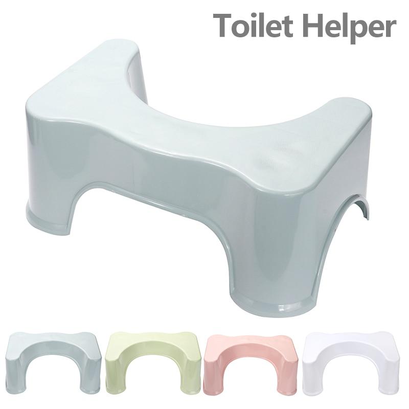 Potty Stool Toilet Foot-Seat Squat Bathroom Child Anti-Slip Helper Rest Aid Heightened