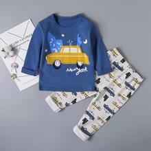 SAILEROAD Childrens Unicorn Pajamas Set Kids Baby Girl Spring Autumn Pyjamas Pijama Infantil Sleepwear Clothes