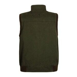 Image 4 - ICPANS gilet classique pour hommes avec plusieurs poches, veste de travail sans manches pour photographe, veste multi poches grande taille, modèle 2019 pour hommes décontracté