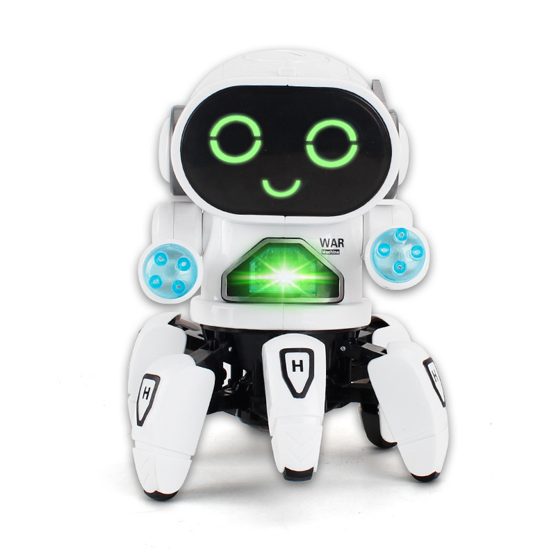 New Dancing Intelligent Induction Robot Diy Assembled Electric Robot Kids Educational