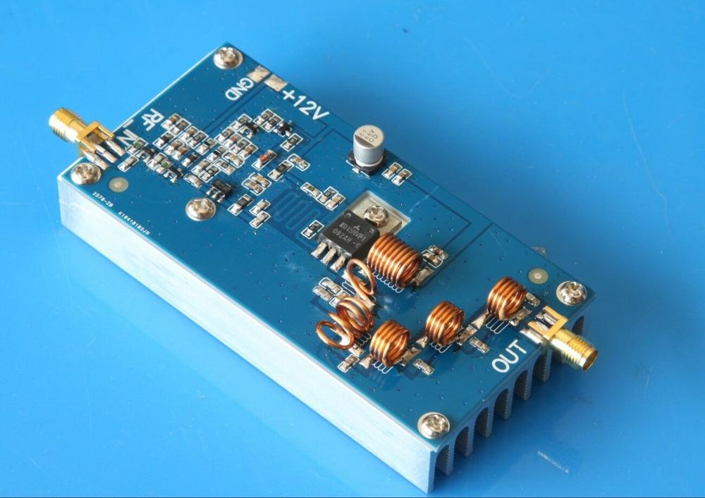 15W RF FM Transmitter Amplifier FM 87MHZ-108MHZ Power Amplifier For Ham Radio Amplifier