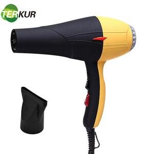 Фен для волос Термостатический горячий и холодный ветер сбор воздуха 2300 Вт фен тепловой уход за волосами паяльная сушилка Unfoldable Handle Hydra Anion