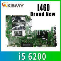 BL460 NM-A651 motherboard For Lenovo ThinkPad L460 laptop FRU motherboard 01AW259 CPU i5 6200 DDR3 BL460 mainboard motherboard