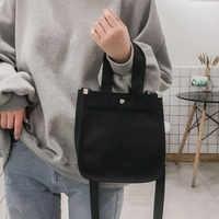 Bolso de compras de lona para mujer, bolso de ocio a la moda para mujer, bolso comprador ecológico, bolsas de algodón al hombro, bolsas ecológicas reutilizables #57