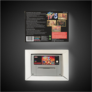 Image 2 - Final Fight 3   EUR Version Action Game Card with Retail Box