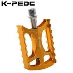K PEDC pedał rowerowy stop Aluminium jednoczęściowy pedał rower górski oś na łożyskach jazda części zamiennych na