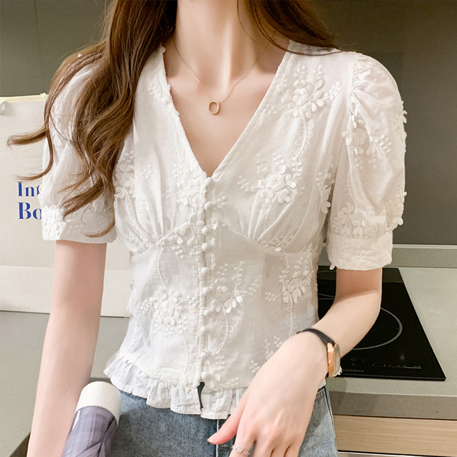 Lace Casual Top  2