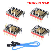Bigtreetech tmc2209 v1.2 motorista do motor deslizante tmc2208 uart peças de impressora 3d tmc2130 tmc5160 para skr v1. SKR 4 MINI E3
