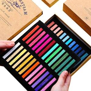 Chalk 48 36 24 Color Pastel Brush Set Art Blackboard Tool Pin Cai Famille Rose Stick 12 Pens/Box