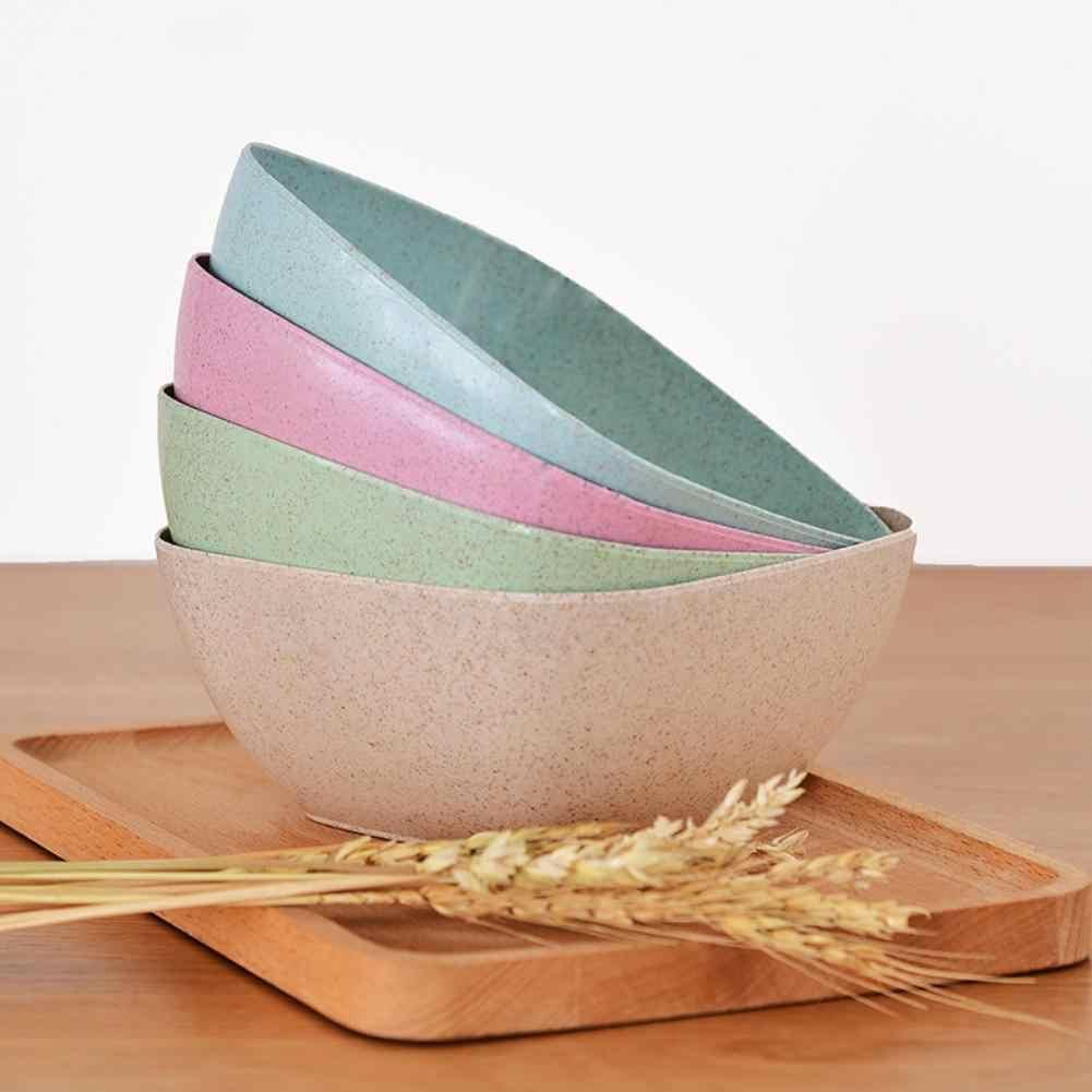 Ekologiczne Crop Straw proste kwadratowe miska do jedzenia naczynia domowe