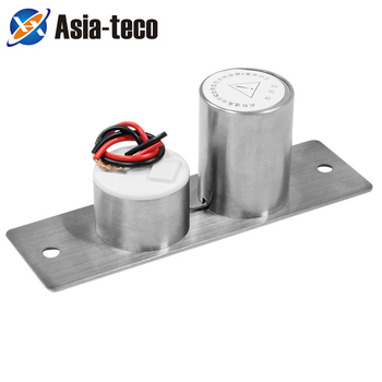Stainless Steel Mini Electric Bolt Lock DC 12V Solenoid Electric Door Lock Easy to Install stainless steel u bracket for bolt lock electric lock u bracket for frameless glass door lock