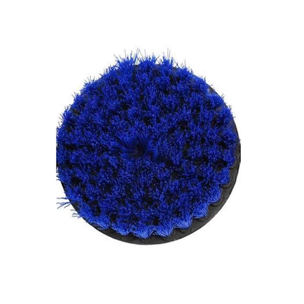 DANIU 5 بوصة الأحمر/الأصفر/الأزرق الخشن الحفر الكهربائية تنظيف فرشاة ل جهاز إزالة الغبار الغسيل تنظيف فرشاة حوض أداة تنظيف كيت