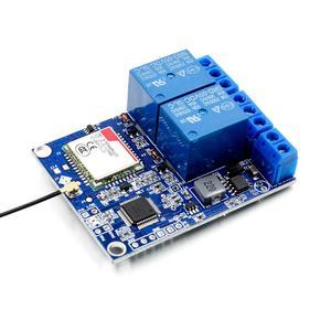 Image 4 - 2 kanal röle modülü SMS GSM uzaktan kumanda anahtarı SIM800C STM32F103C8T6 sera oksijen pompası için