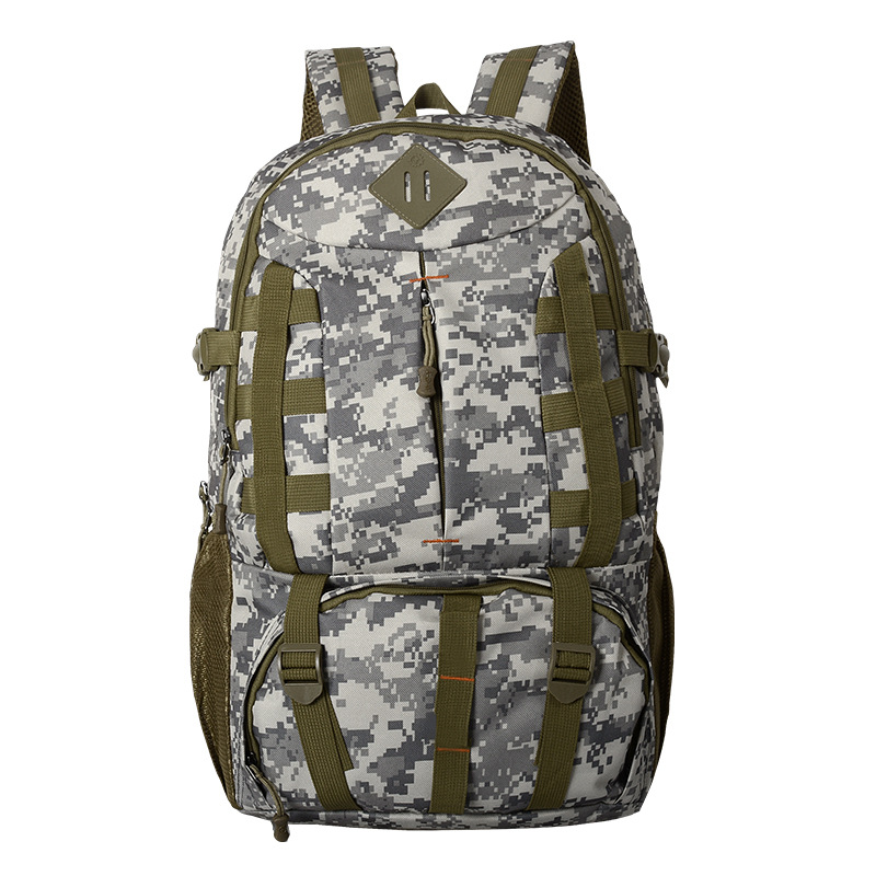 Outdoors Sports Hiking Camping Bags Military Tactical Rucksack Army Back Pack Waterproof Male Multi-pocket Travel Climbing Bag