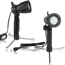 2pcs Mini table Photography LED Continuous Light Lamp Portable Cold Warm Lighting 3800-5500K For Photographic Photo Video Studio