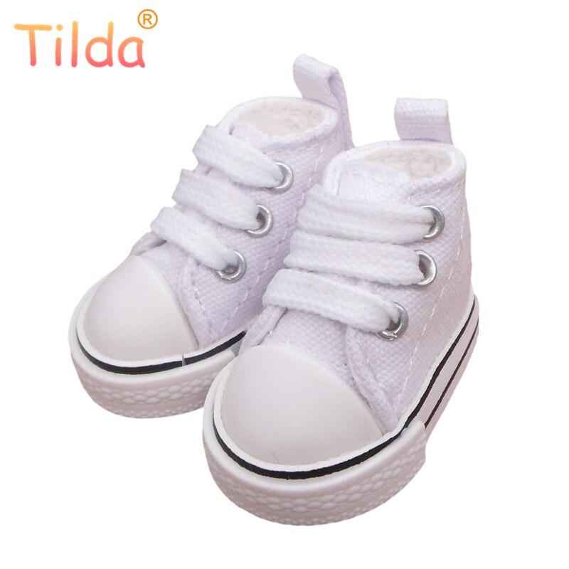 Tilda 5cm Canvas Shoes 1/6 BJD Shoes for Plush Dolls,Original 5 CM Shoes for 20cm Doll,Russian Doll Accessories 5 Pair/Lot shoes for dolls toy shoesbjd shoes - AliExpress