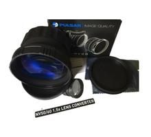 Pulsar 79097 NV60 1.5x Lens Converter Pulsar NV 60mm used on Pulsar night vision riflescopes with a 60 mm objective lens