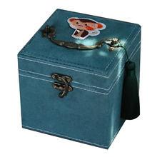 Фланелевая шкатулка для ювелирных изделий с вышивкой 12 знаков