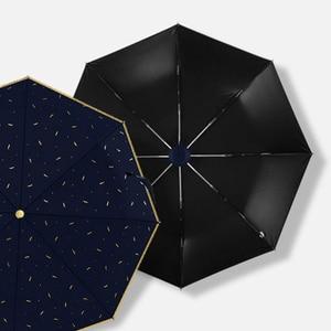 Image 4 - OLYCAT Automatische Regenschirm Regen Frauen Marke Cartoon Print Sonnenschutz Klapp Schirme Winddicht Anti UV Sonnenschirm 5 Arten Paraguas