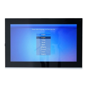 Image 4 - DH logo VTH5441G PoE(802.3af) 10 inch Touch Indoor Monitor,IP doorbell monitor, Video Intercom monitor,wired doorbell monitor