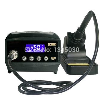 1PC AT938D ESD Safe 60W Digital Welding Desoldering Solder Station Solder Iron LCD Display