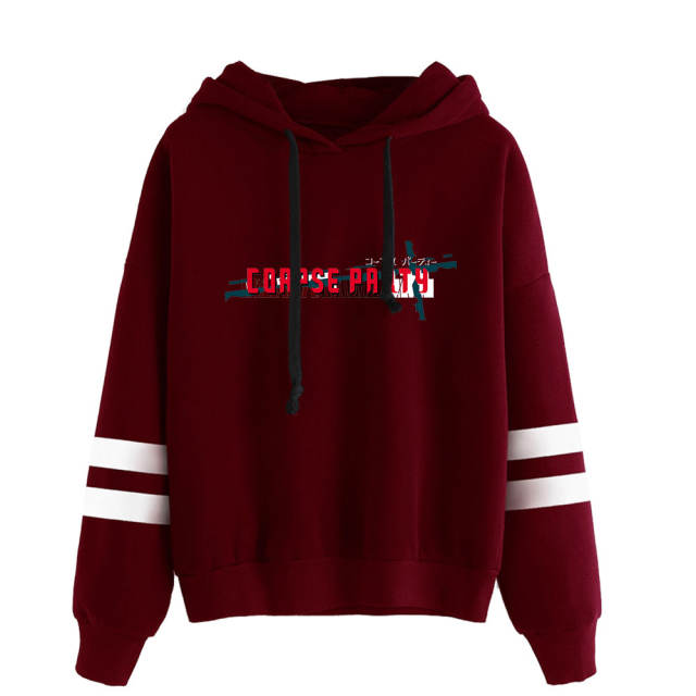 CORPSE PARTY BLOOD DRIVE STRIPED HOODIE (25 VARIAN)