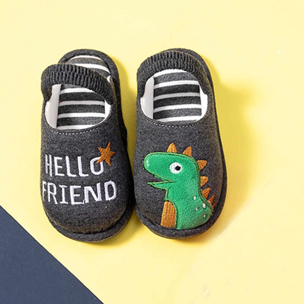 SAGACE NEW 2019 Girls Fluffy Kids Shoes Boys Shoes Spring Autumn Children Animal Home Slipper Fashion Toddler Kids Boots 830