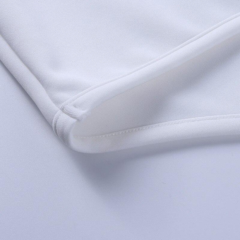 long sleeve white dress20