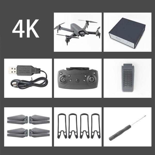 Global Drone 4K Drones with Camera HD RC Helicopter Foldable Quadcopter FPV Quadrocopter Drone X Pro Dron VS Drone  E58 E520S