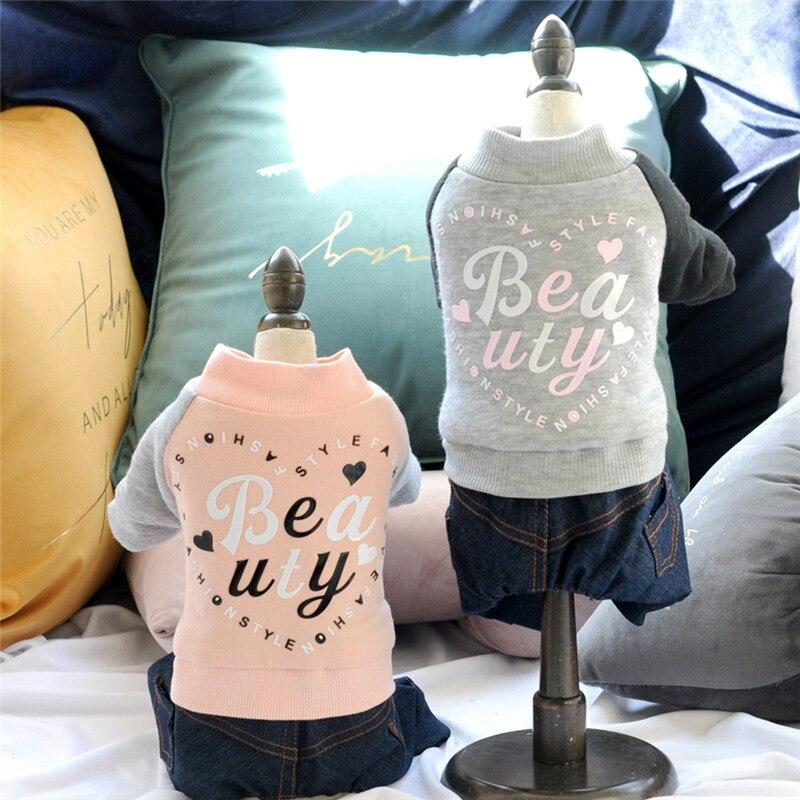 Одежда для домашних собак с принтом движения четыре ноги теплое пальто Домашние животные кошка теплая одежда жилет куртка для домашнего питомца одежда для собак для маленьких средних собак@ 5