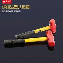 Напрямую от производителя Красной головки кузнечный молот полировки ударопрочных Молот Linyi Hammer Hedong аппаратные инструменты оптом