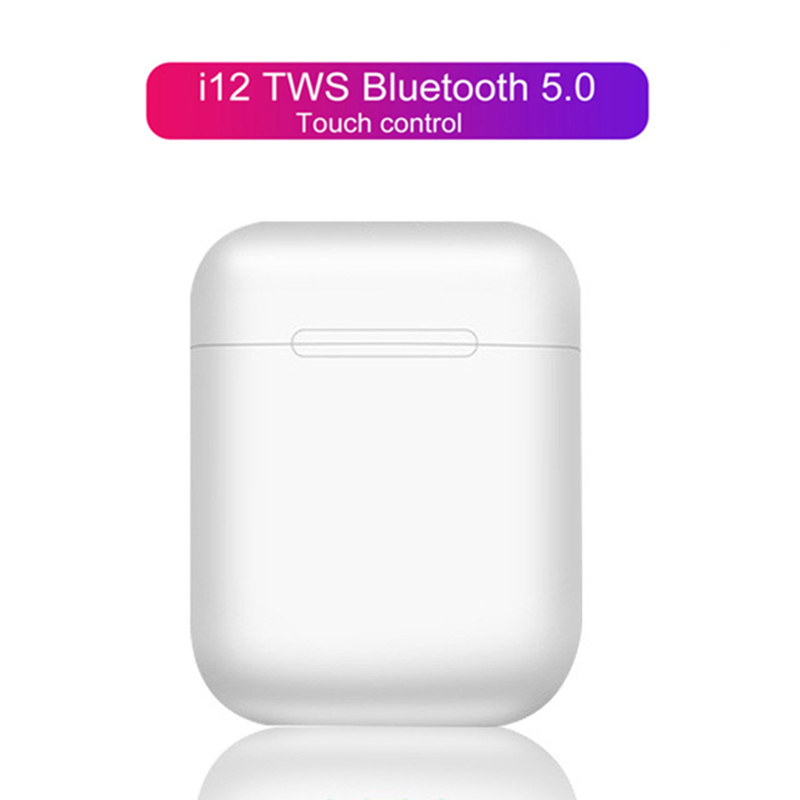 <font><b>TWS</b></font> Wireless Earphones <font><b>i12</b></font> Touch Control <font><b>Earbuds</b></font> <font><b>Bluetooth</b></font> <font><b>5.0</b></font> Headphones Sport Headsets For iPhone Xiaomi Samsung Smart Phone image